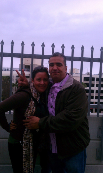 My mom and dad by Jose Martinez