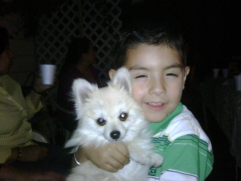 My cousin Sebastion
