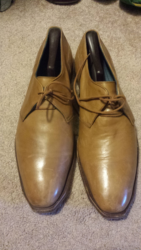 Tanned Leather shoes