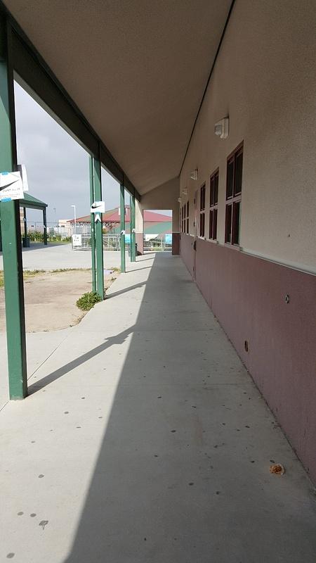 hallway left