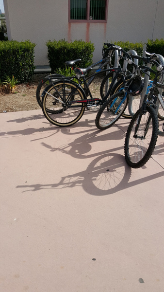 bike shadows by JosephMartinez