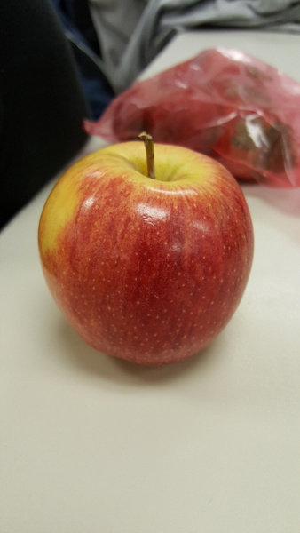 Red apple by JosephMartinez