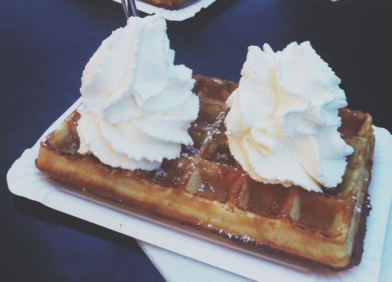 Waffle in Downtown