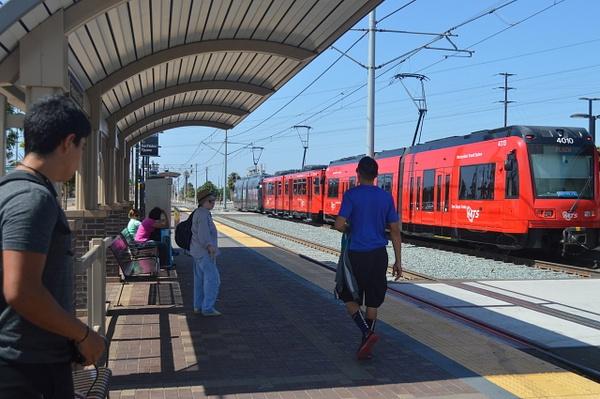 Trolley Station by AndresRuvalcaba