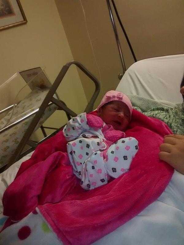 niece new born