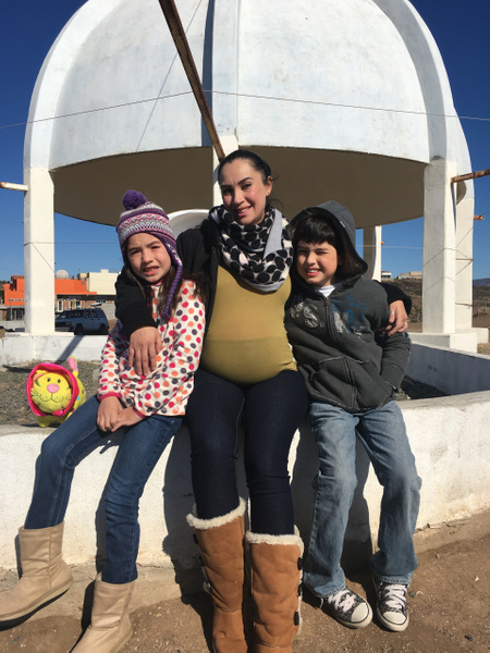 sister's children by AndresRuvalcaba