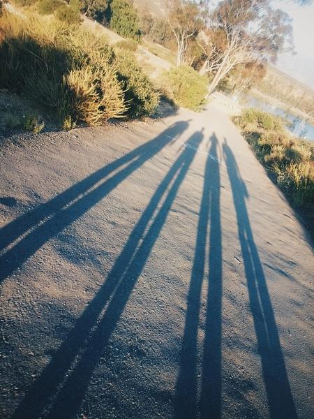 Savage Dam hill Shadows by EstebanAguilar