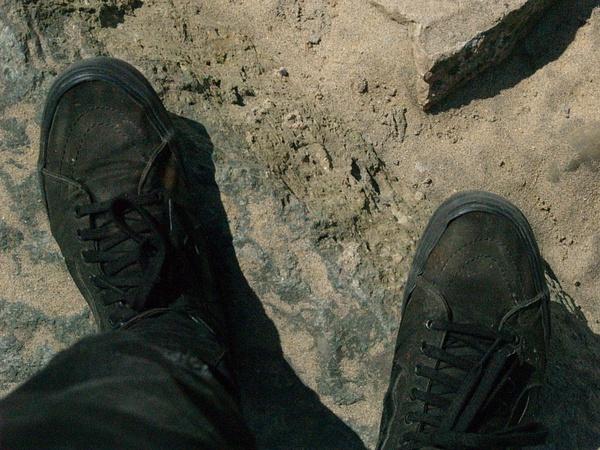 Sandy Shoes by EstebanAguilar