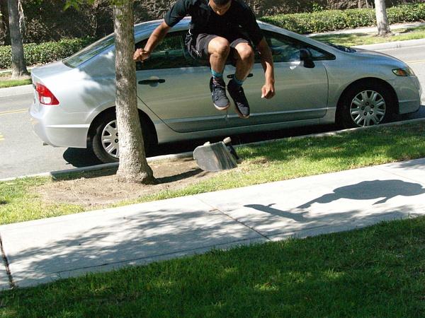 front jump by EstebanAguilar