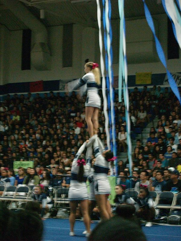 Blurry Cheerleader