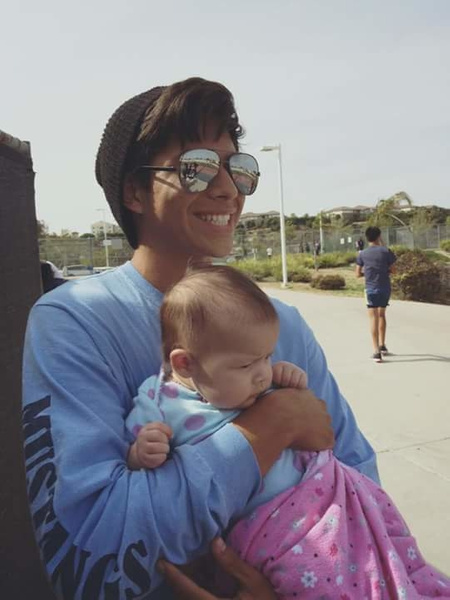 Baby Ahri and I by EstebanAguilar