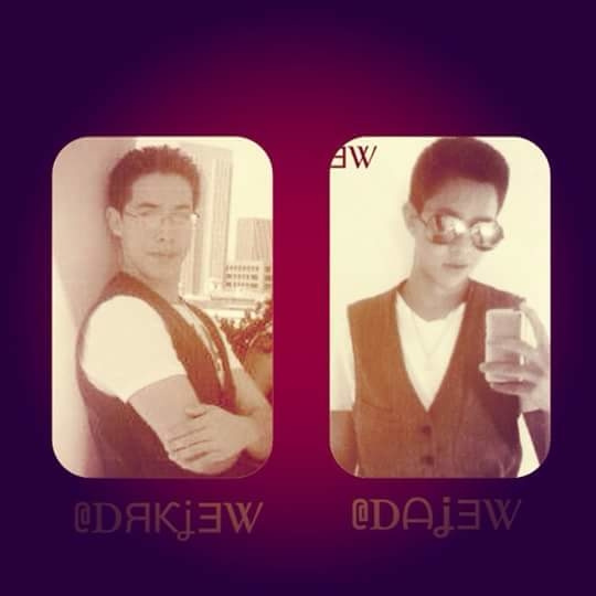 People say we look like we're twins