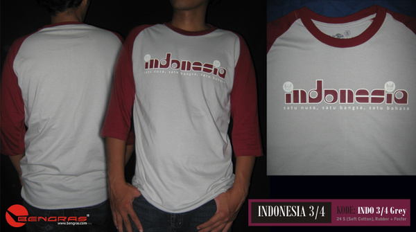 INDO 3per4 Grey Master by BengrasClothing