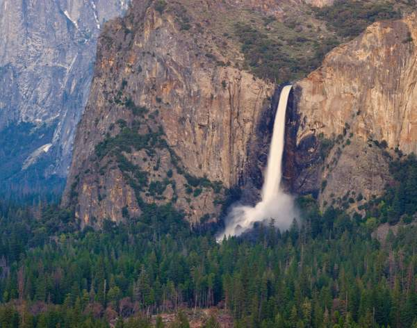Bridalveil Fall from Valley View