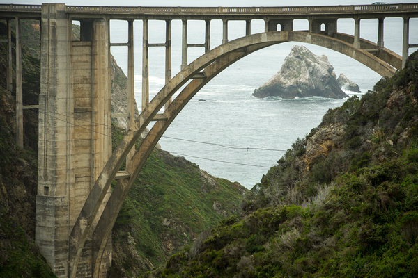 _LLL9938 Bixby Bridge by Lance Levine