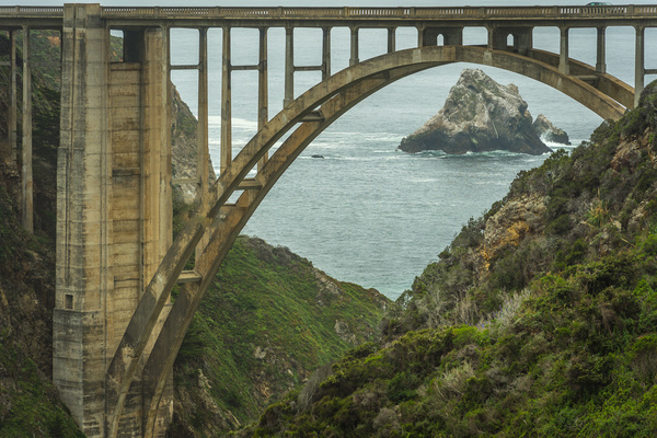Bixby Bridge lll9938-edit.tif- by Lance Levine