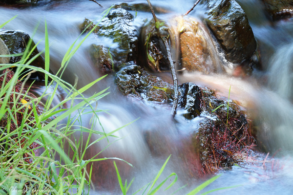 Water fall by SandyBrinsdon