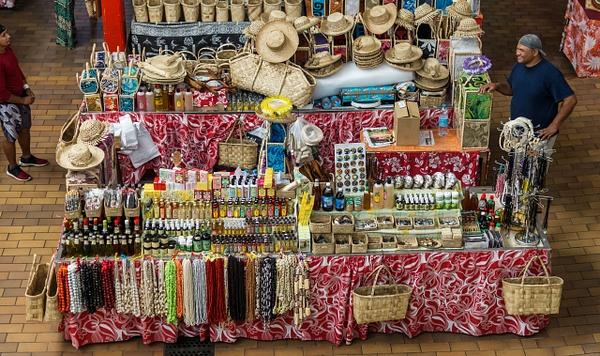 local market by SandyBrinsdon