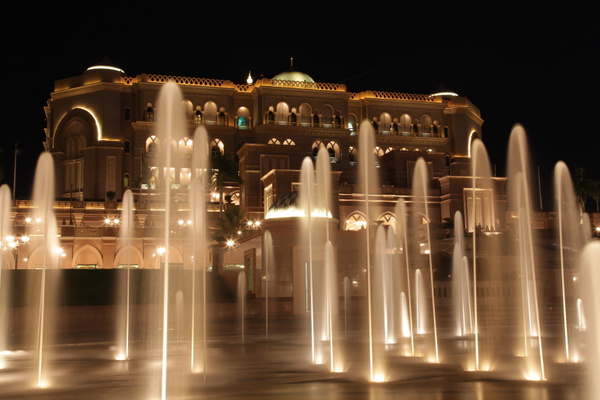 Emirates Palace | Abu Dhabi by MaryamPeiravi