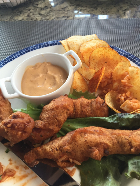 Fish and chips oceana by JanieBac