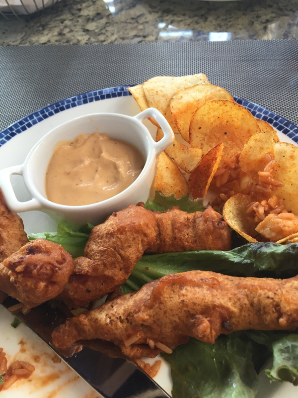 Fish and chips oceana