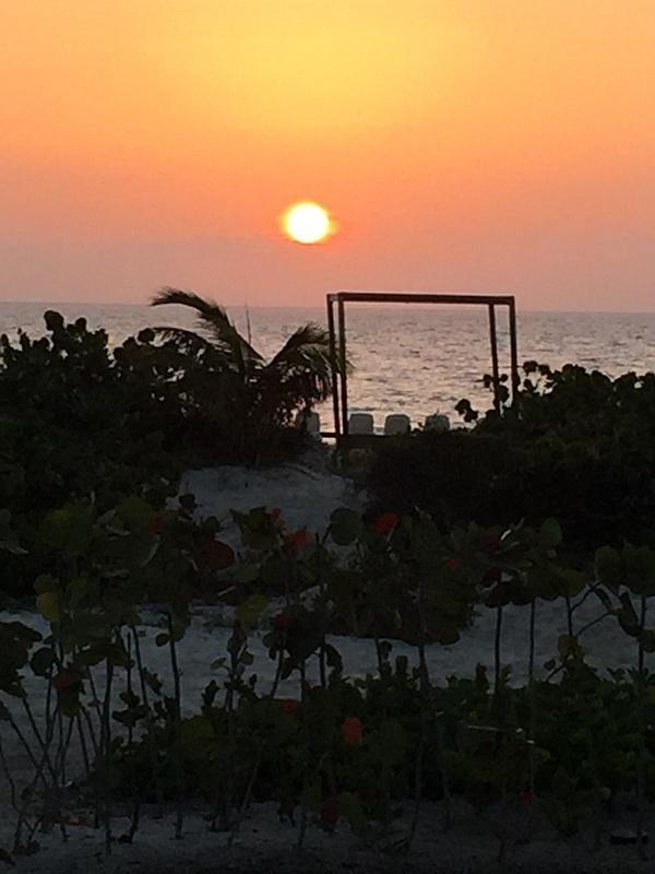 Sunrise from balcony 1005