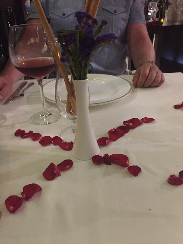 Table at Portofino