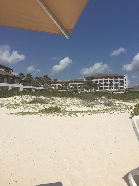 Hotel from beach block 3 by JanieBac