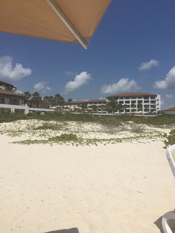 Hotel from beach block 3