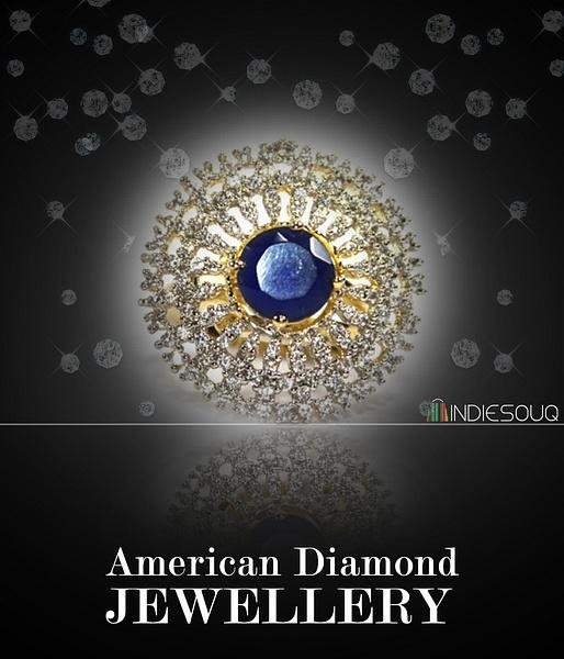 Buy American Diamond Jewellery by Indiesouq