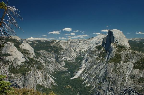 Half Dome from Glacier Point by PrismOptics