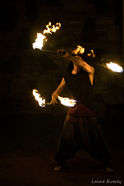 Firespinning 2.0 by Elaine Everly