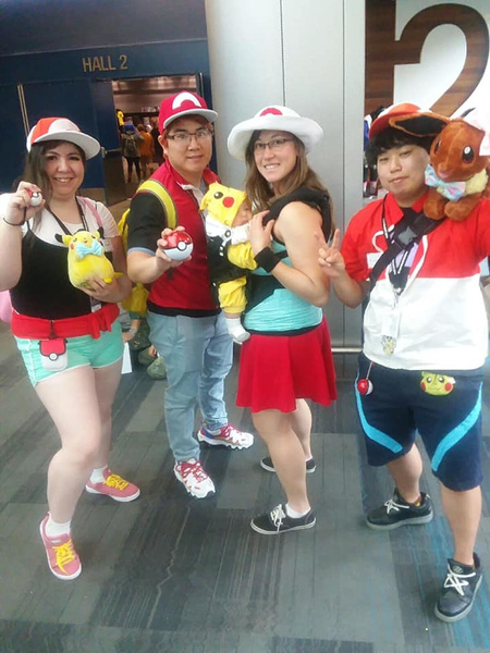 poke fam by FanimeCon