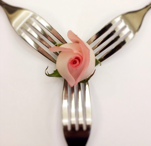 romantic forks by Gabriel le Roux