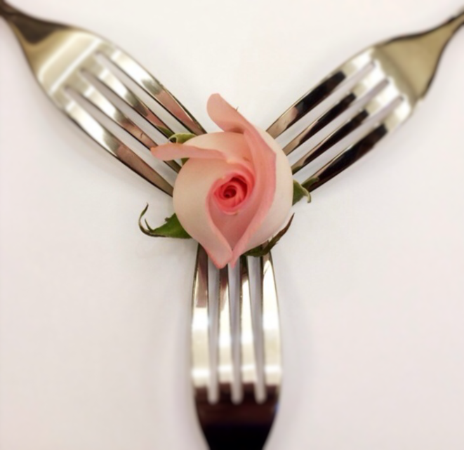 romantic forks