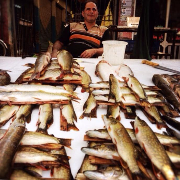 spanish fish vender