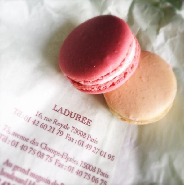 macaroons in paris by Gabriel le Roux
