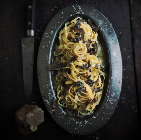 truffle pasta in ital by Gabriel le Roux
