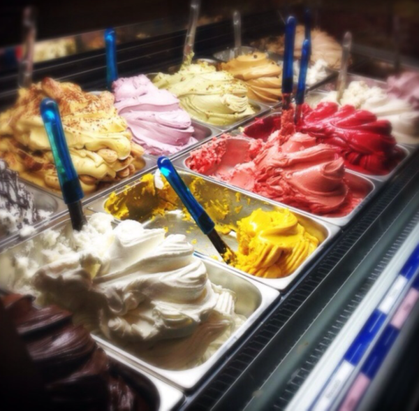 ice cream in spain by Gabriel le Roux