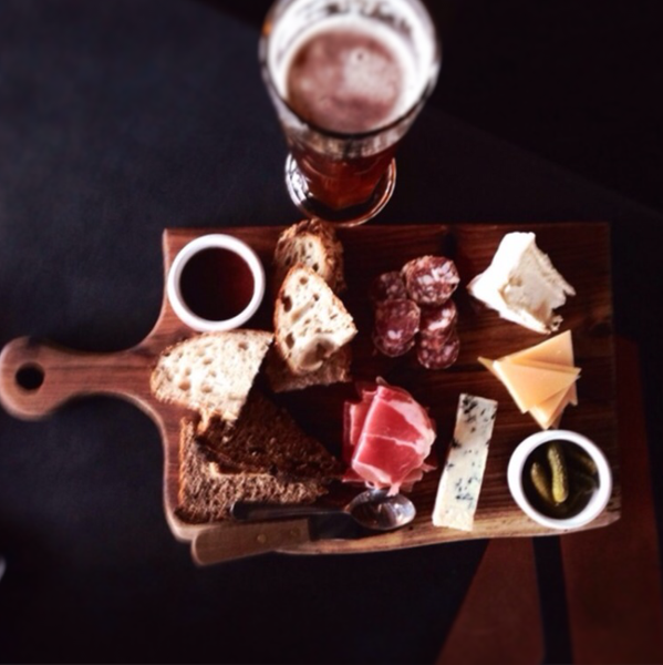 cold meat and beer in germany by Gabriel le Roux