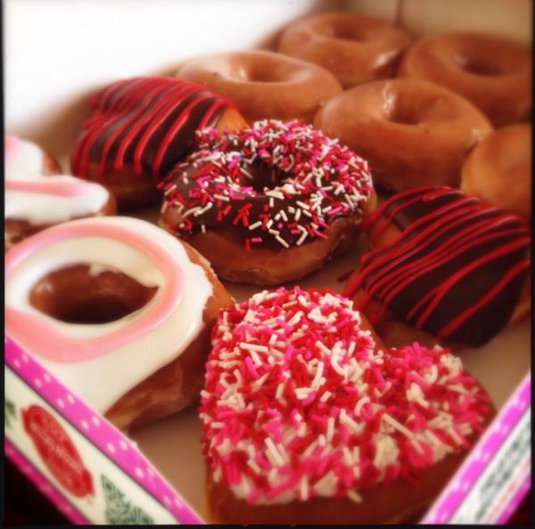 valentine doughnuts by Gabriel le Roux