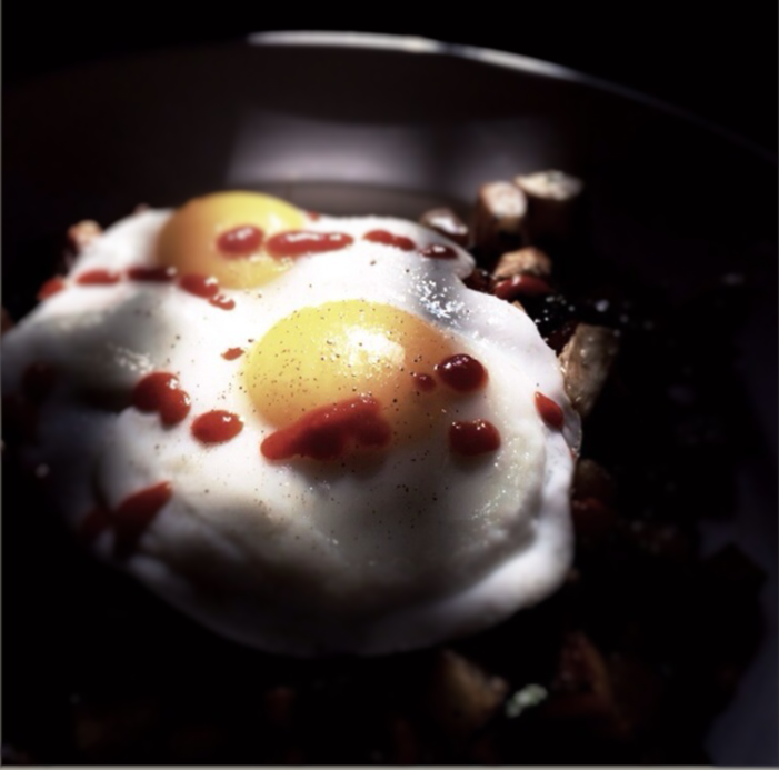 sunday morning eggs