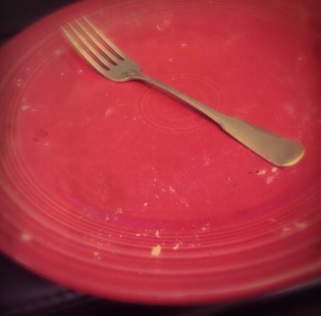every chef loves an empty plate