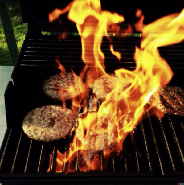 flame grilled is always better by Gabriel le Roux