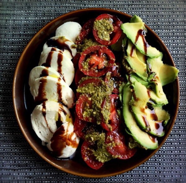 my type of caprese by Gabriel le Roux