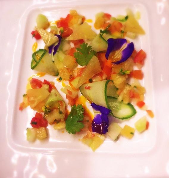 raw salad by Gabriel le Roux