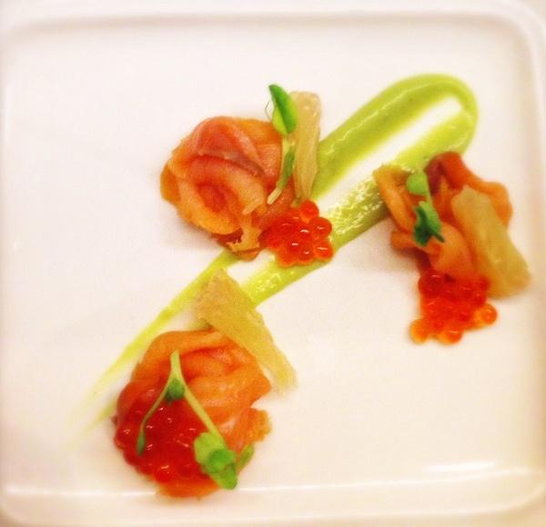 salmon by Gabriel le Roux