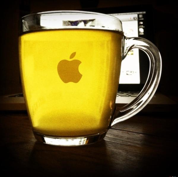 apple tea by Gabriel le Roux