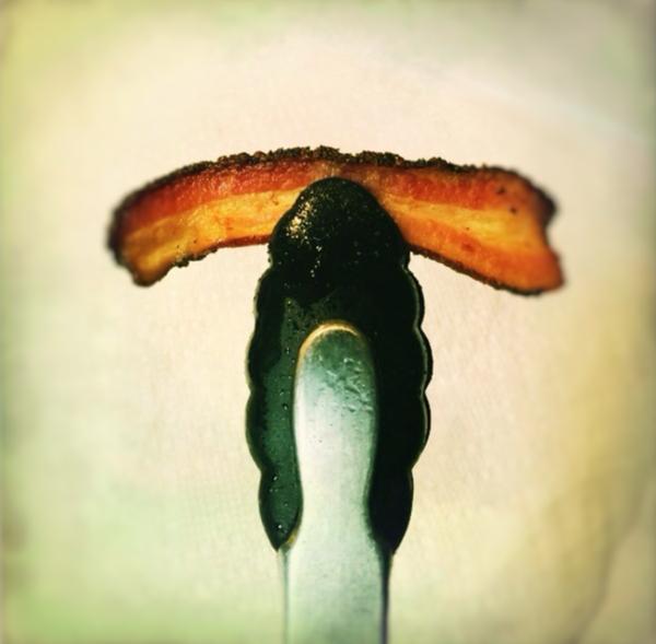 crispy bacon by Gabriel le Roux