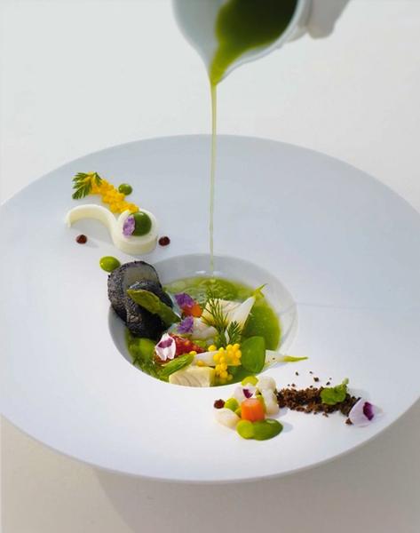 garden vegetable textures by Gabriel le Roux